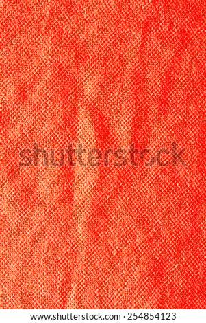 Red Textile Background/ Red Textile Background - stock photo