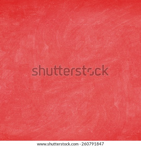 Red texture background - blank empty chalkboard / blackboard closeup. - stock photo