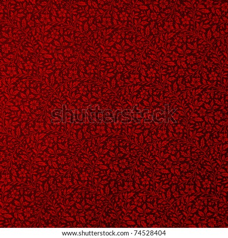 red textured wallpaper - stock photo