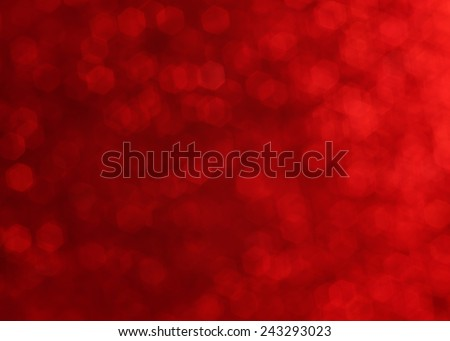 red twinkling lights, festive mood - stock photo