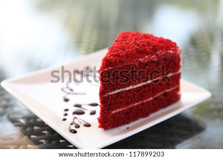 red velvet - stock photo