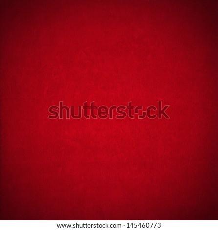 Red Velvet Background / Closeup detail of aged red velvet texture background - stock photo