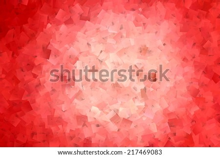Red Vortex Abstract - stock photo