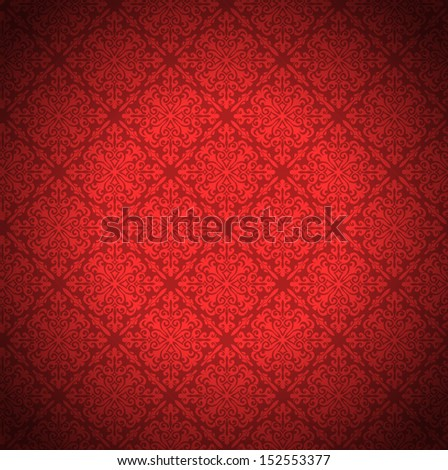 red wallpaper for background. - stock photo