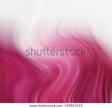 red waves abstract   - stock photo