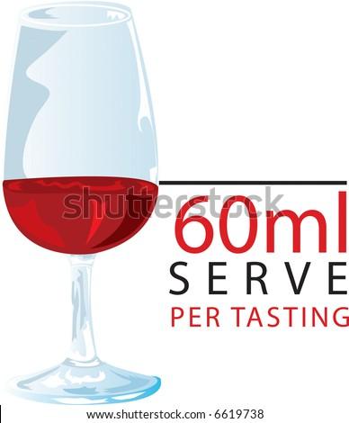 Red Wine Tasting - stock photo