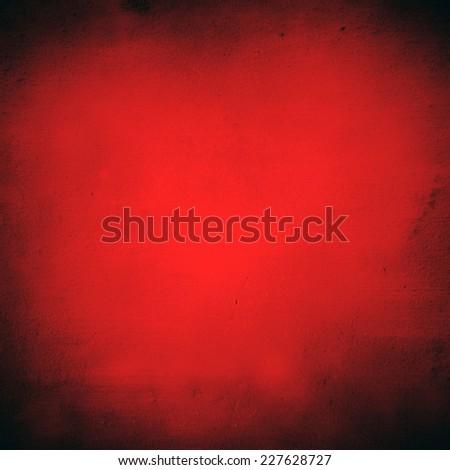 red with black fringe background - stock photo