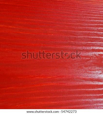 Red wood grain - stock photo