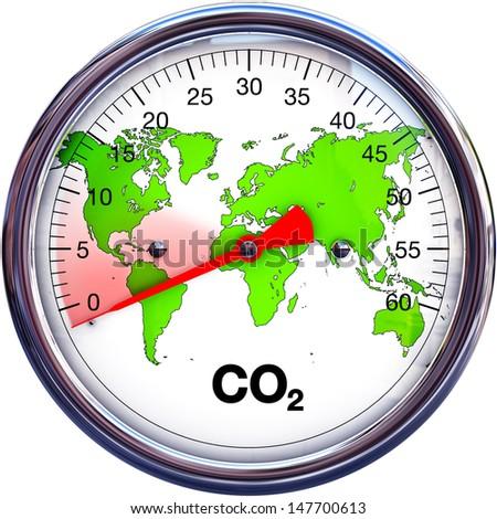 reduce CO2 - stock photo