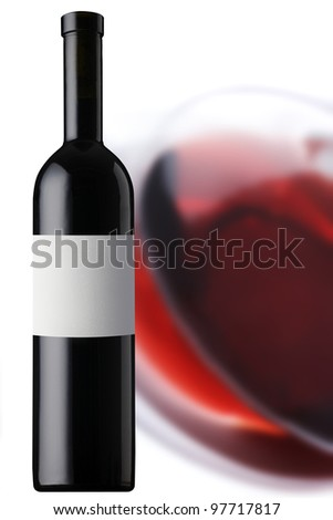 Redwine - stock photo