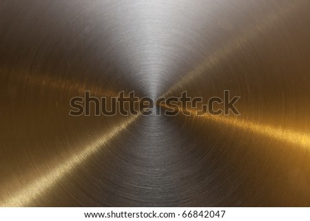 Reference of actual polished steal - stock photo