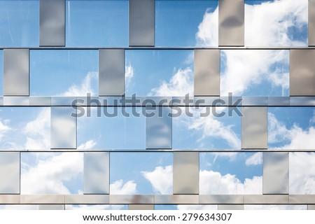 Reflecting Windows - stock photo