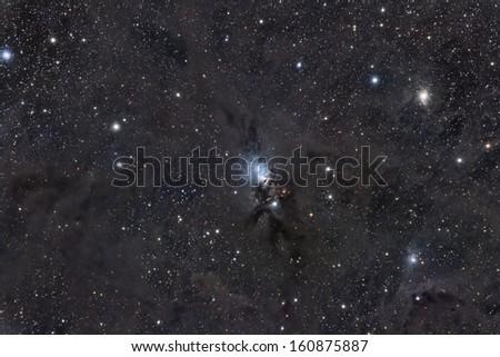 Reflection Nebula NGC 1333 - stock photo