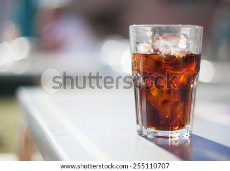 refresh drink - stock photo