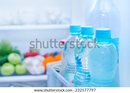 Refrigerator - stock photo