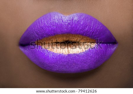 Regal Lips - stock photo