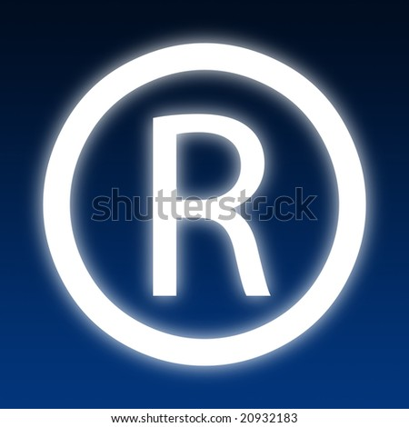 registered - stock photo