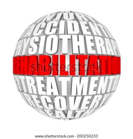 Rehabilitation. - stock photo