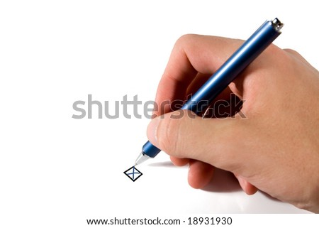 Reject (refuse) - stock photo