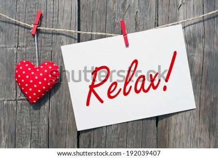 Relax ! - stock photo