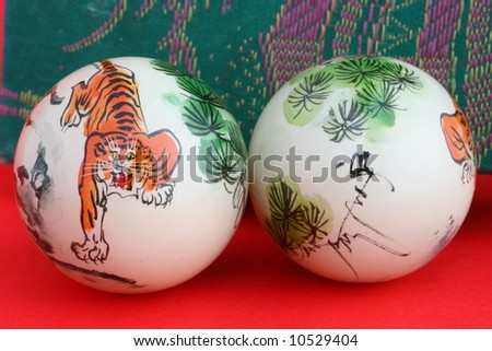 Relaxation balls 2 - stock photo