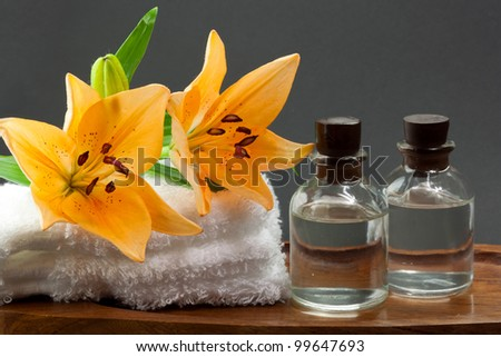 Relaxing treatment - stock photo