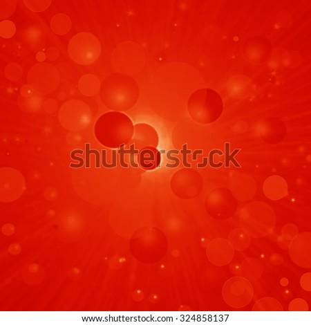 Reld Festive Christmas background. Elegant abstract background - stock photo