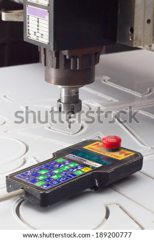remote control car for material handling - stock photo