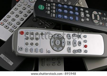 Remotes - stock photo