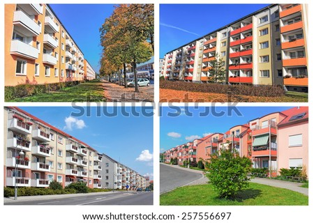 Renovated Prefab - stock photo
