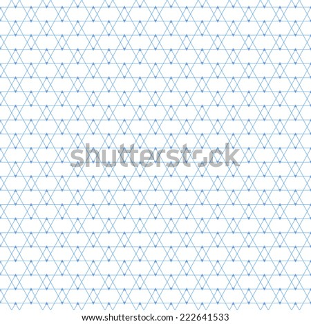 Repeating geometric tiles with triangles. Illustration seamless pattern. - stock photo