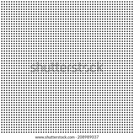 repeating symmetrical small dots  - stock photo