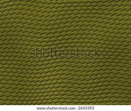 reptile skin background of lizard green stylized - stock photo
