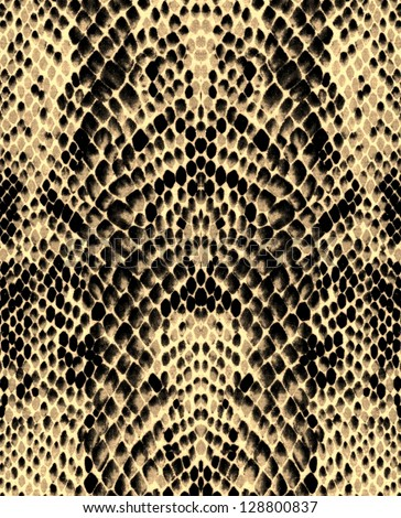 Reptile skin pattern background - stock photo