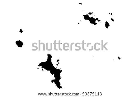 Republic of Seychelles - stock photo