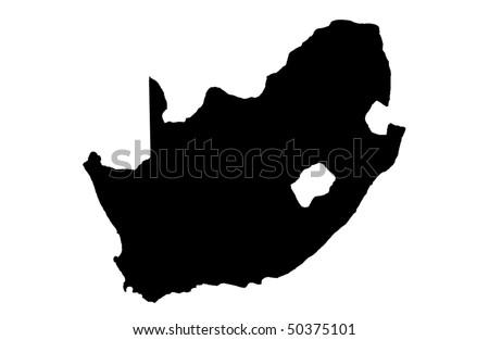 Republic of South Africa - stock photo