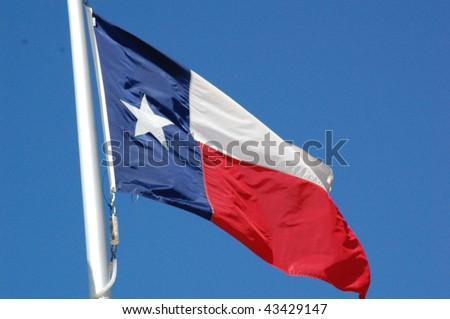 republic of texas flag - stock photo
