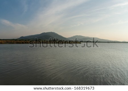 reservoir  - stock photo