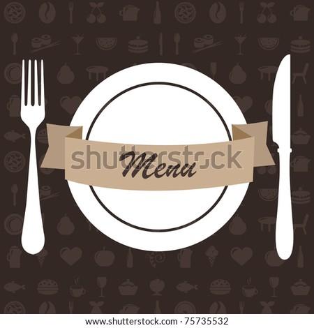 Restaurant Menu - stock photo