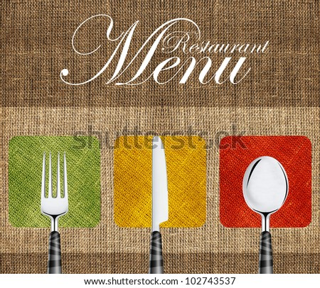 Italian Restaurant Menu Cover