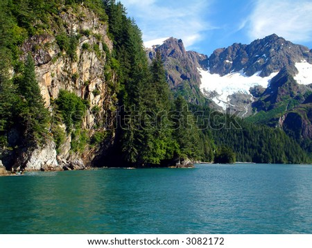 Resurrection Bay - stock photo