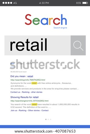 Retail Market Customer Buying Business Selling Concept - stock photo