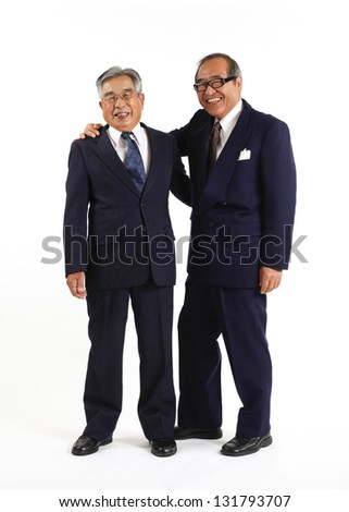 Retired colleague, - stock photo