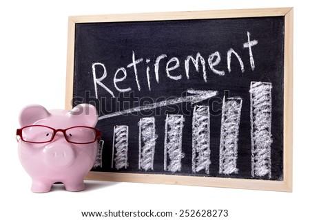 Retirement plan, saving, growth concept. - stock photo