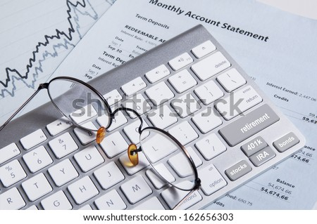Retirement Planning - stock photo