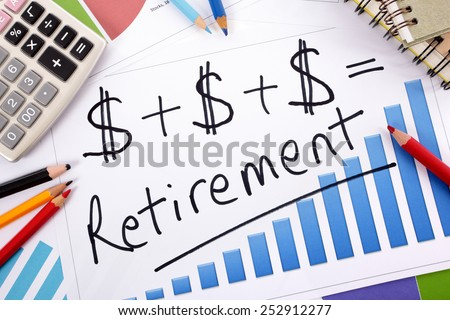 Retirement saving plan, investment growth concept. - stock photo
