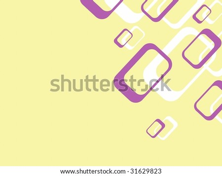 Retro background with rectangles (JPG); a vector version is also available - stock photo