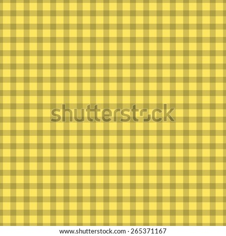 retro checkered seamless background. simple tablecloth - stock photo