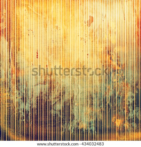 Retro design composition, grunge background or textured backdrop. With different color patterns: yellow (beige); brown; green; red (orange); gray; purple (violet) - stock photo