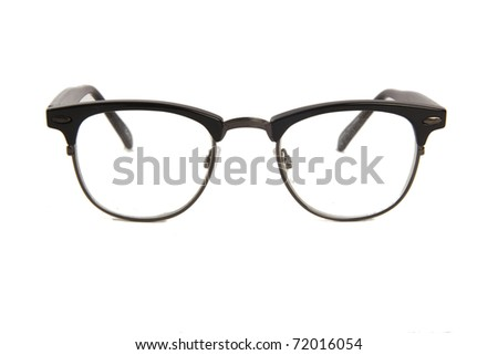 Retro Eye Glasses - stock photo